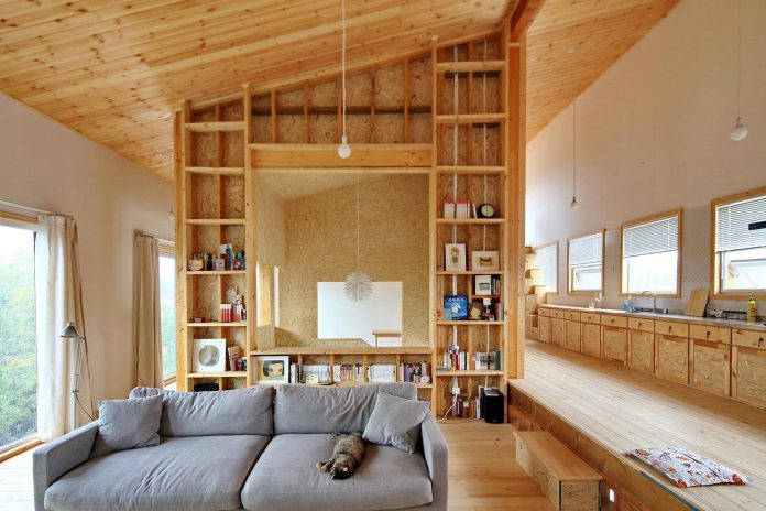 old-brick-single-story-house-converted-wooden-three-stories-home-slow-office-beijing-03