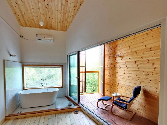 old-brick-single-story-house-converted-wooden-three-stories-home-slow-office-beijing-05