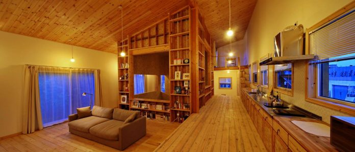 old-brick-single-story-house-converted-wooden-three-stories-home-slow-office-beijing-10