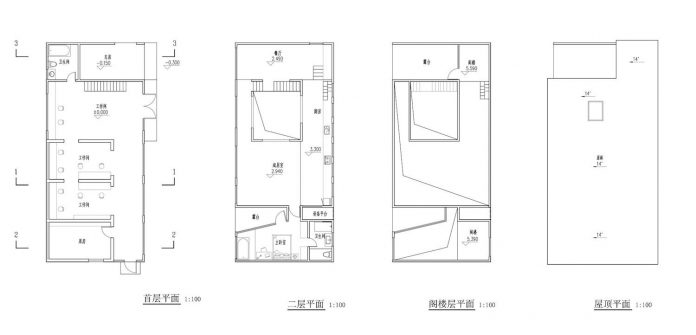 old-brick-single-story-house-converted-wooden-three-stories-home-slow-office-beijing-13