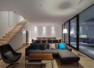 Oleg Drozdov design the ARK Residence providing each member of the family their own autonomous spaces