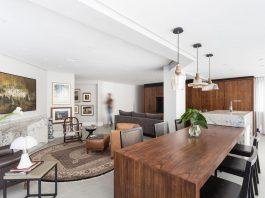 Plaza minimalist apartment designed by AMBIDESTRO in Porto Alegre, Brazil