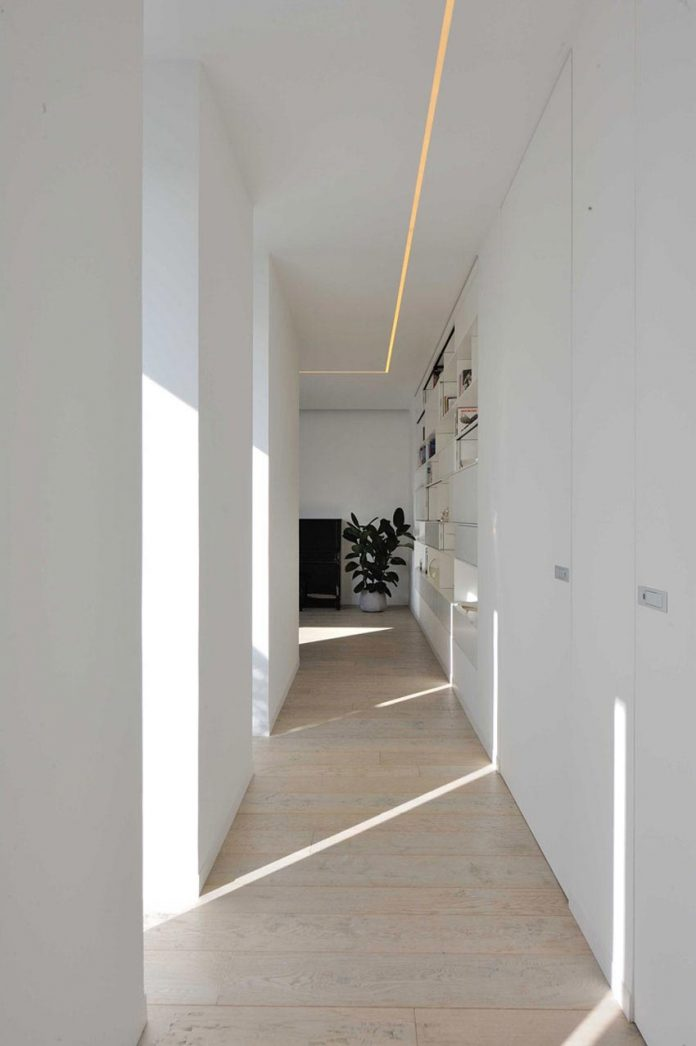 renovation and expansion of the house and the light in