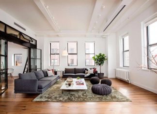 Shadow Architects design The East Village Loft, which occupies a wing of what was once a small hospital redesigned