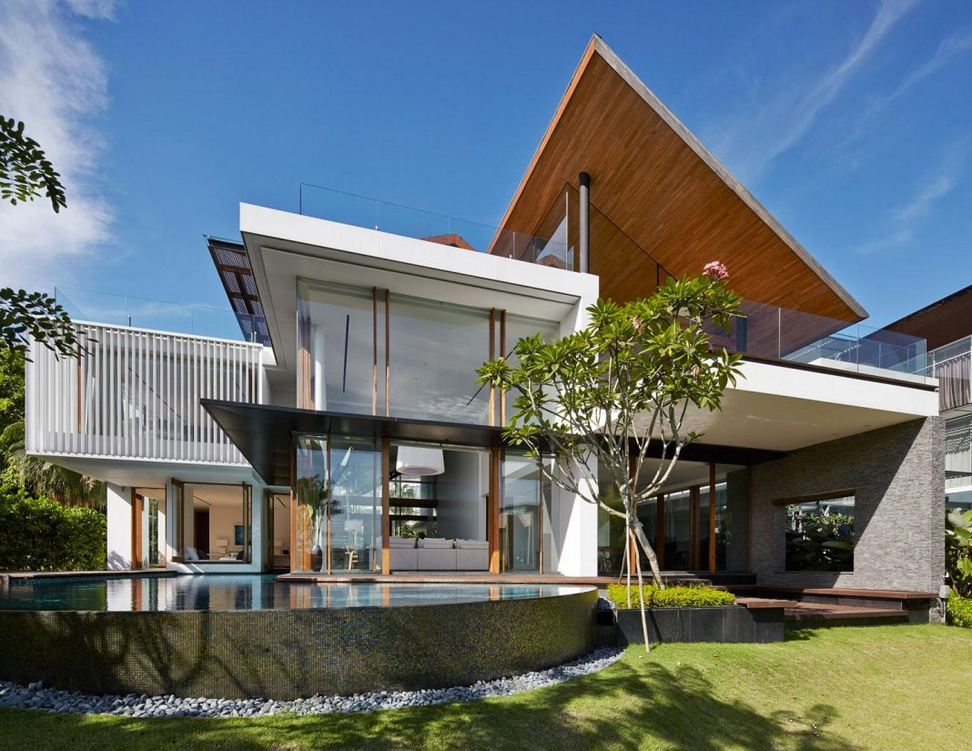 Sophisticated No. 2 House in Singapore by Robert Greg Shand Architects