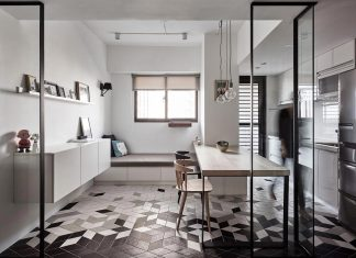 Taichung OU simple and contemporary apartment designed by Z-AXIS DESIGN