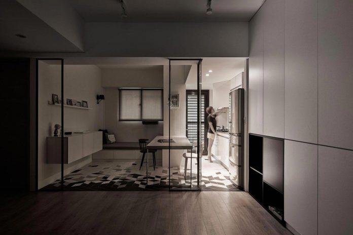 apartamento moderno y contemporáneo