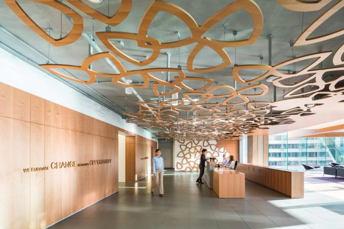 Telus garden offices in vancouver with most state of the for Office design vancouver