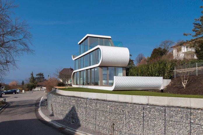 Modern Architecture Zurich exellent modern architecture zurich minimalist home unravels upon
