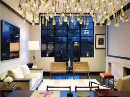 A west Village penthouse in New York by Scarpidis Design