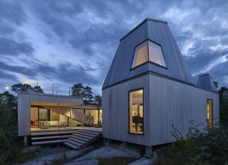 Wooden Villa Kristina in Gothenburg, Sweden designed by Wingardhs