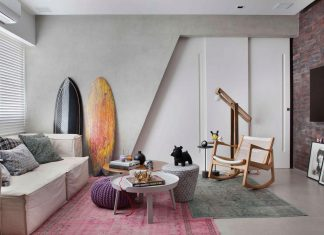 Colourful chic apartment designed for a 30s single man in Rio de Janeiro by Studio ro+ca