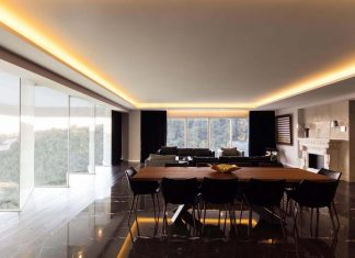 Contemporary apartment designed by Kababie Arquitectos in a amplitude and sobriety concept design