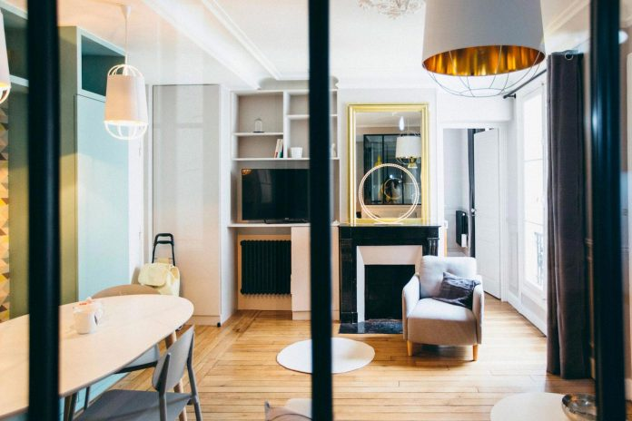 conversion-two-bedroom-haussamanian-apartment-central-paris-functional-contemporary-versatile-retro-twist-weekend-city-pad-07