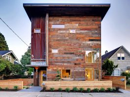 Emerald Star certified home in Seattle, a cutting-edge combination of green technology, renewables, and reclaimed materials