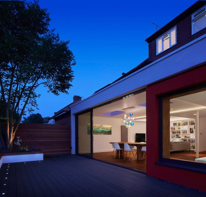 Design Your Own Home Extension: Extension Of An Old House In Order To Create A Light