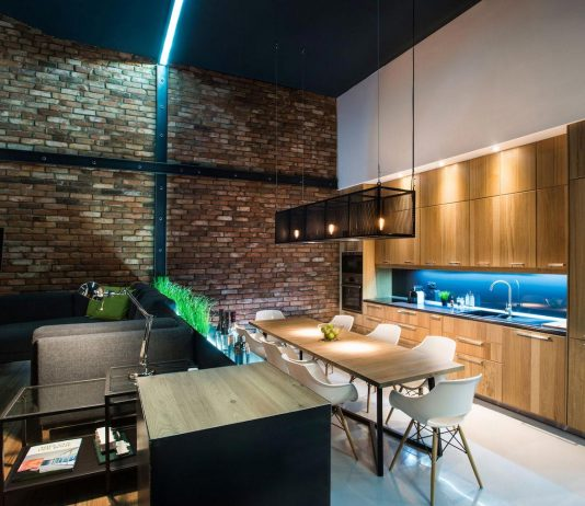 Gasparbonta designed a contemporary two bedroom apartment in Budapest
