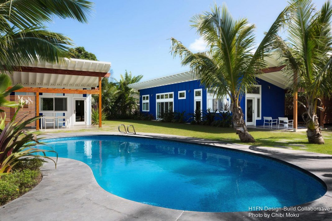 Kailua Beach House by H1+FN Design Build Collaborative