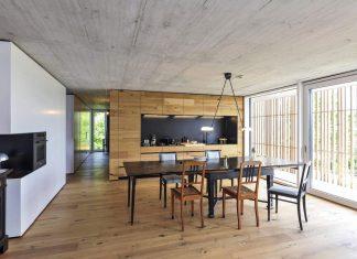 Manuela Fernandez Langenegger designs a flat concrete home in Nürtingen, Germany
