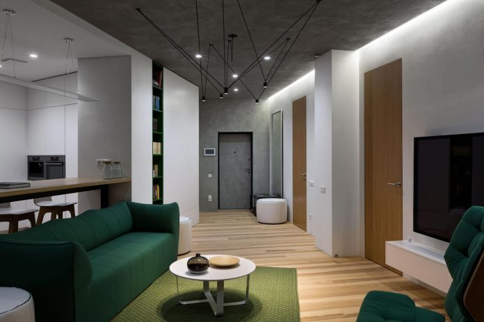 Minimalist Apartment Interior Design Although Practical And