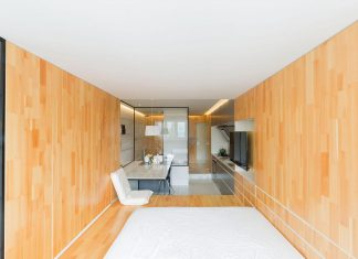 Renovation of a studio apartment less than 40 square meters uppermost in downtown Shanghai