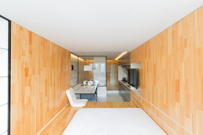 Renovation Of A Studio Apartment Less Than 40 Square