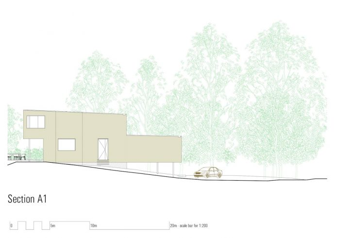 A semi permanent residence for a couple their dog and for Architecture design studio pty ltd