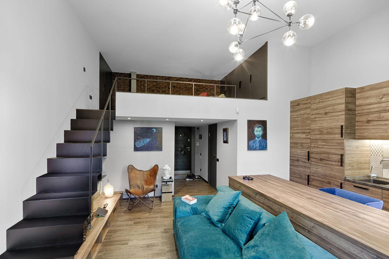 Small Apartment Historical Center Kiev Designed One Person 04