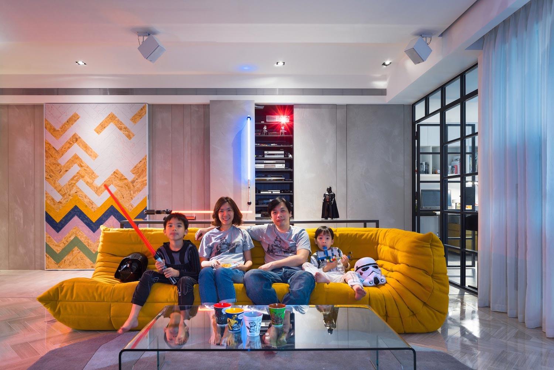 Дизайн звездных квартир