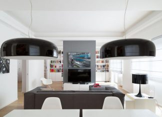 Teresa Paratore design La Casa Studio, a contemporary apartment in Rome, Italy