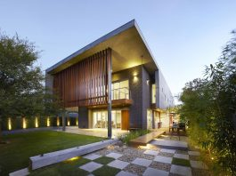 Wolf Architects design The Wolf House: a modern villa with a contemporary Chinese garden and lots of cool features