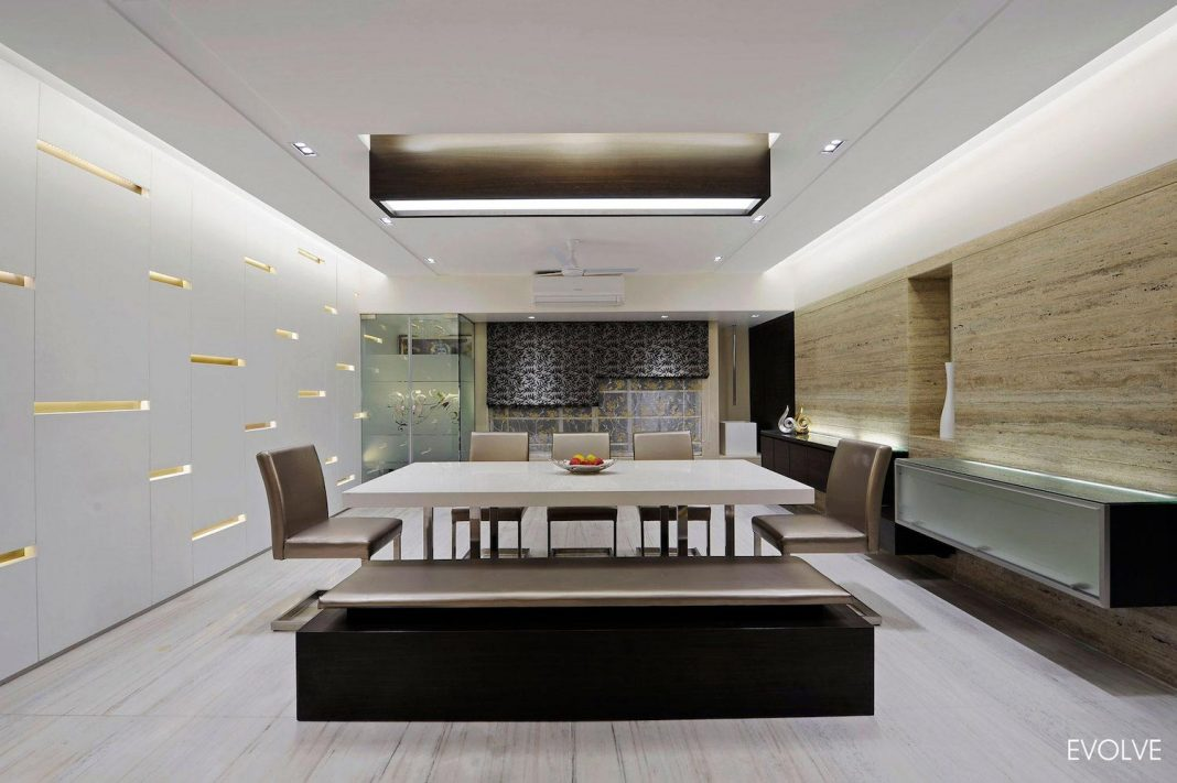 2000 square foot apartment in Mumbai with 4 Bedrooms which are all different in terms of design theme