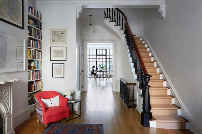 4 Story Italianate Row Carroll Gardens Townhouse In