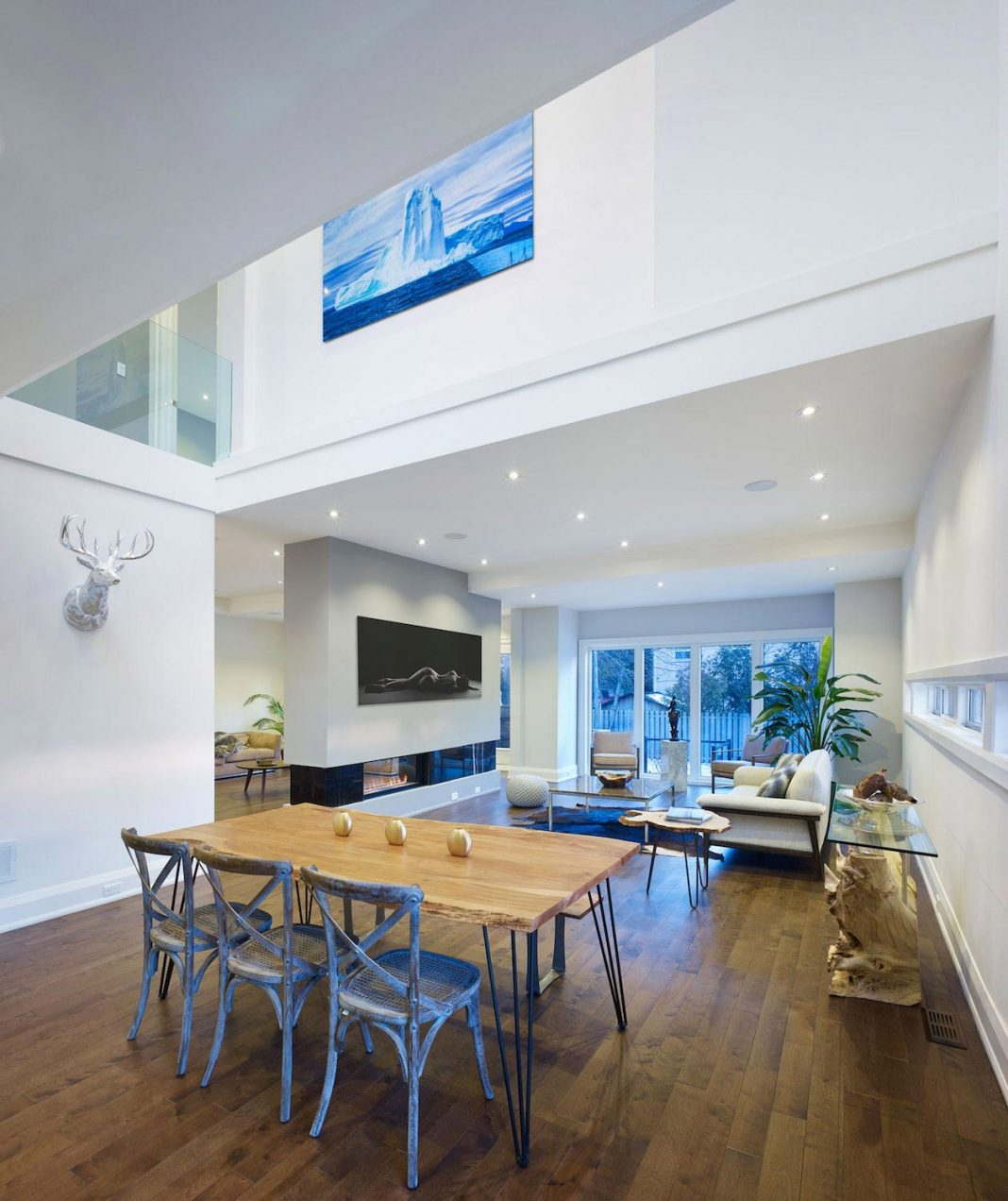 Bon Alva Roy Architects Design The Garden Void Single Family Two Story House In  Toronto, Canada