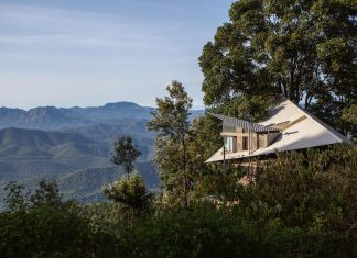 Hornbill house located at O'land estate, a tea and coffee plantation