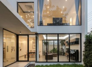 Kradoan House by Thiti Ophatsodsai: Serenity with Nature in Urban lifestyle of Bangkok