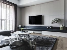 Limited, unlimited contemporary apartment designed by Taipei Base Design Center