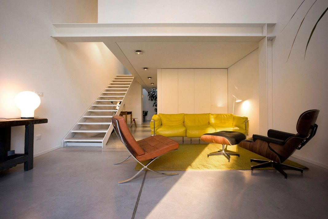 loft ex magazzini generali with a furniture reflection of modern and