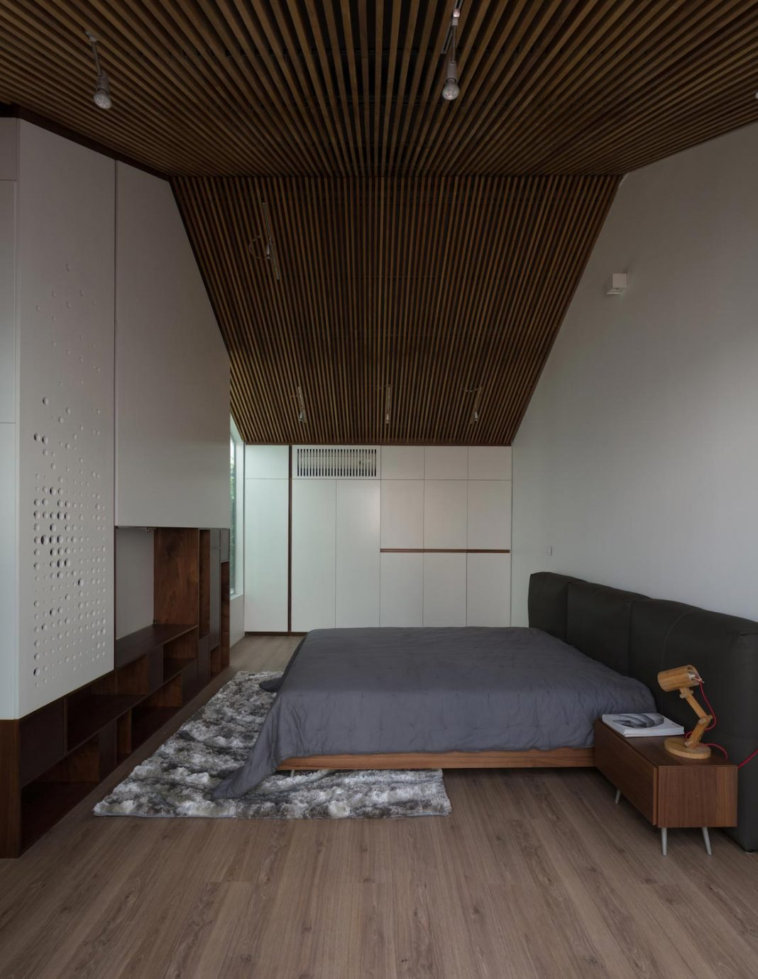 New comfortable attic apartment in the old house located in the Old Quarter of Hanoi