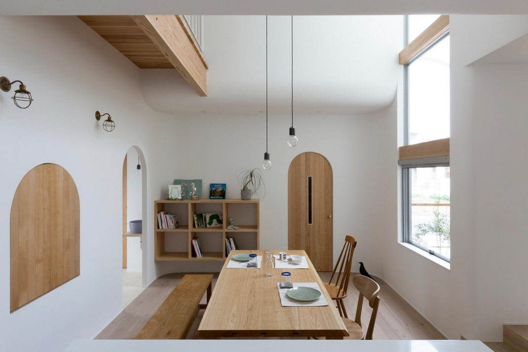 Otsu House by ALTS Design Office is a comfy house, a welcoming atmosphere with lots of light
