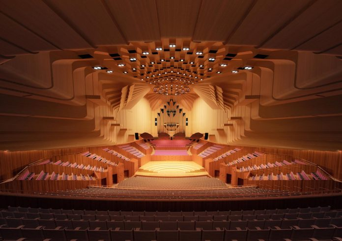 The Sydney Opera House has revealed designs for a $202 million renovation project