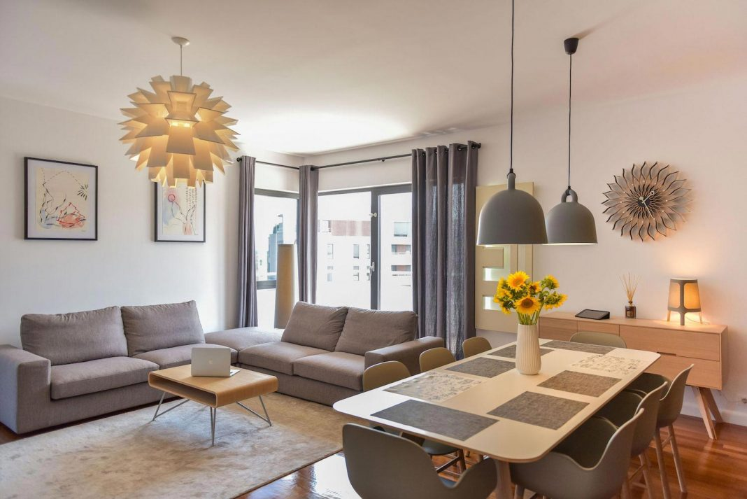 Apartment Z provides a space that is comfortable, cosy and warm, without compromising on the design