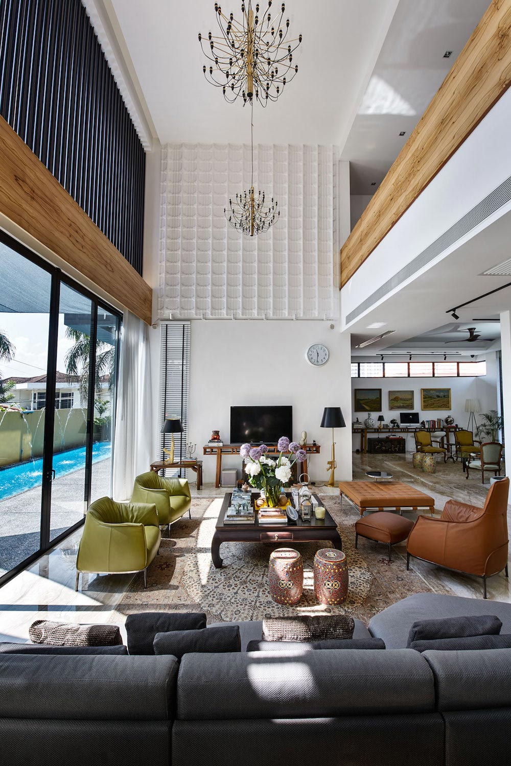 A Bungalow Is Completely Redesigned Into A Contemporary New Squarish Structure Caandesign Architecture And Home Design Blog