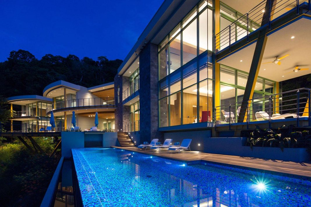 Casa Magayon by SARCO Architects Tropical Modern Luxury Home in