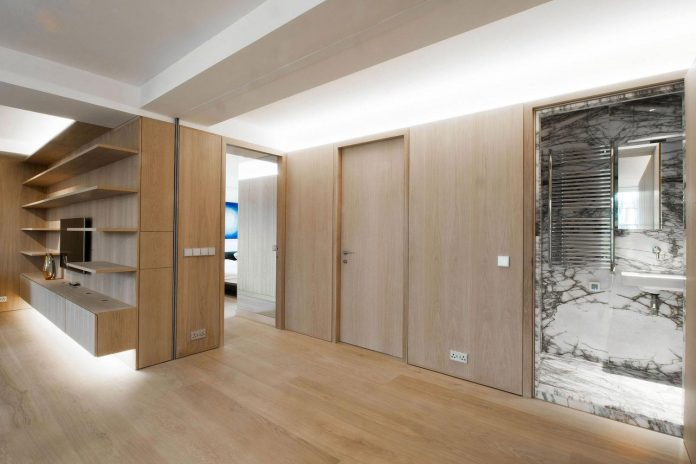 Complete Redesign Of A 4th Floor Level Apartment Located