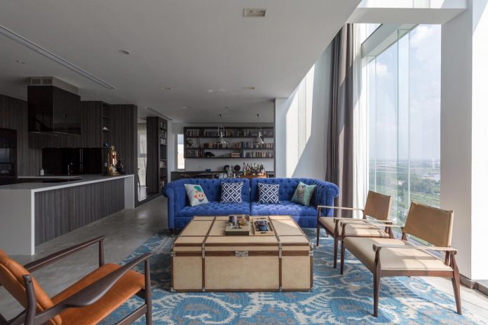 Contemporary design style applied in combination with the use of ...