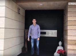 Inside the Cristiano Ronaldo's house in Pozuelo de Alarcon, Spain