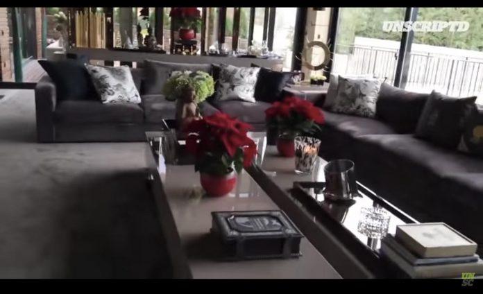 ronaldo house interior