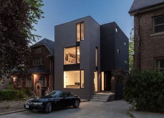 Instar House: a minimalist three-storey wood & steel structure in Toronto