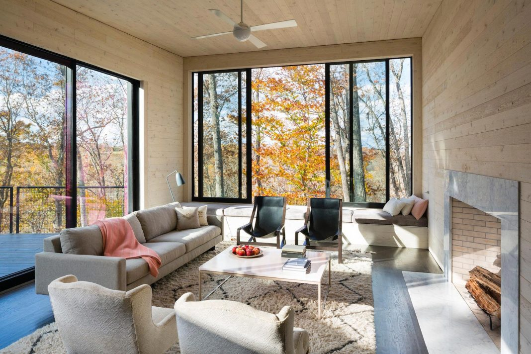 James River House: home in the woods where children can grow and learn from their surroundings